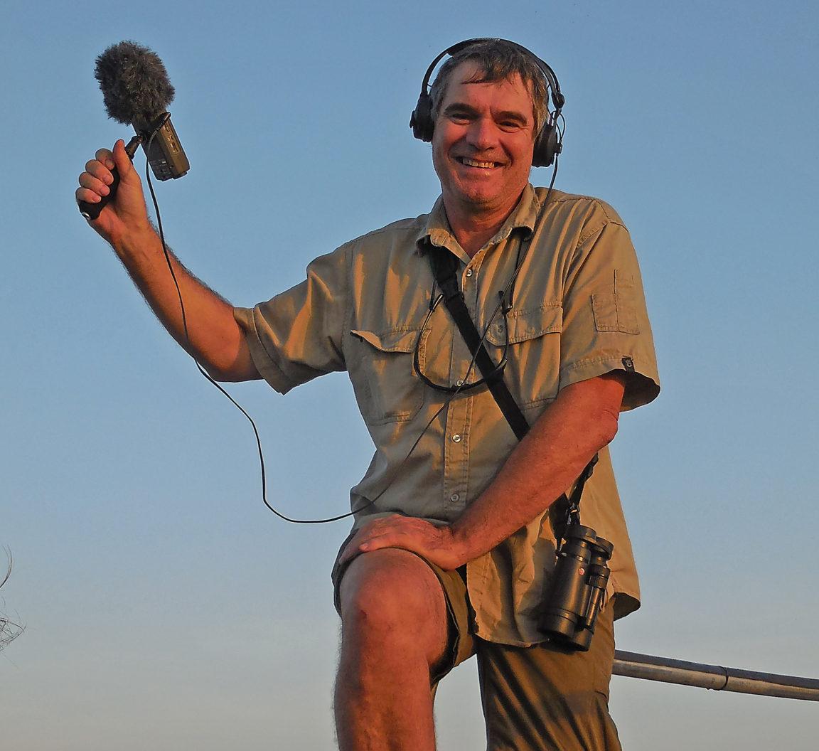 Recording sound at Kakadu